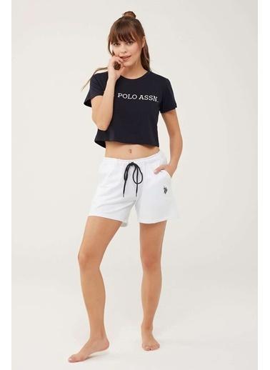 U.S. Polo Assn. Şort Beyaz
